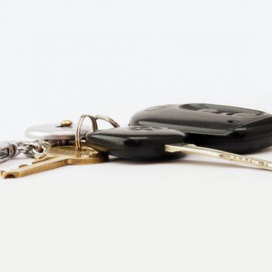 Broken Car Keys