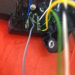 Fixing a Morric Immobiliser Box on a motorbike